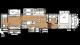 2018 Sierra 381RBOK Floor Plan
