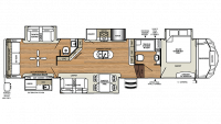 2018 Sierra 387MKOK Floor Plan