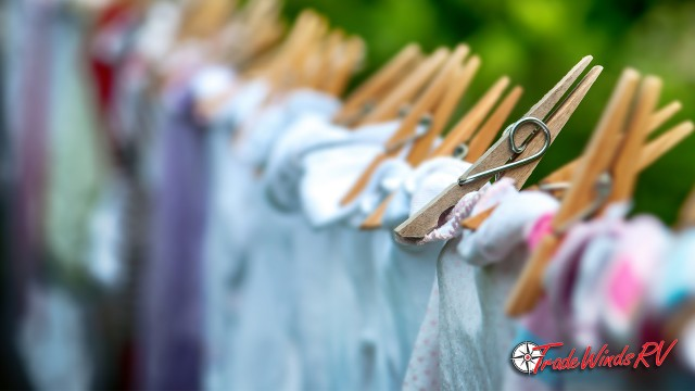 Doing Laundry While RVing: Hang Your Clothes On A Diy Clothesline