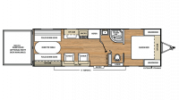 2018 Catalina Trail Blazer 26TH Floor Plan