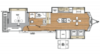 2018 Catalina Destination 39MKTS Floor Plan