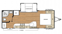 2018 Catalina Legacy Edition 223RBS Floor Plan