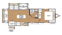 2018 Catalina Legacy Edition 293RLDS Floor Plan