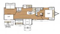 2018 Catalina Legacy Edition 333BHTS CK Floor Plan
