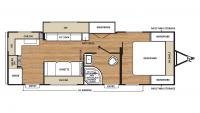 2018 Catalina SBX 261RKS Floor Plan