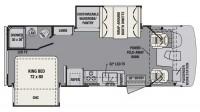 2018 FR3 25DS Floor Plan