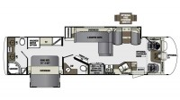 2018 Georgetown XL 369DS Floor Plan