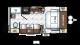 2018 Flagstaff Micro Lite XLT 19FD Floor Plan