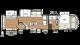 2018 Sierra 384QBOK Floor Plan