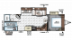 2018 Flagstaff Super Lite 27BHWS Floor Plan