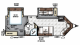 2018 Flagstaff Super V 26VFKS Floor Plan
