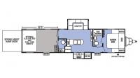 2019 XLR Boost 31QB Floor Plan