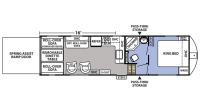2018 XLR Boost 33RZR16 Floor Plan