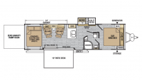 2019 XLR Nitro 29KW Floor Plan
