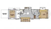 2019 XLR Nitro 36TI5 Floor Plan