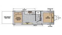 2018 XLR Nitro 23KW Floor Plan
