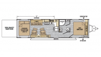 2018 XLR Nitro 28KW Floor Plan