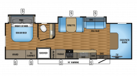 2018 Greyhawk 29MV Floor Plan