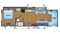 2018 Greyhawk 30X Floor Plan