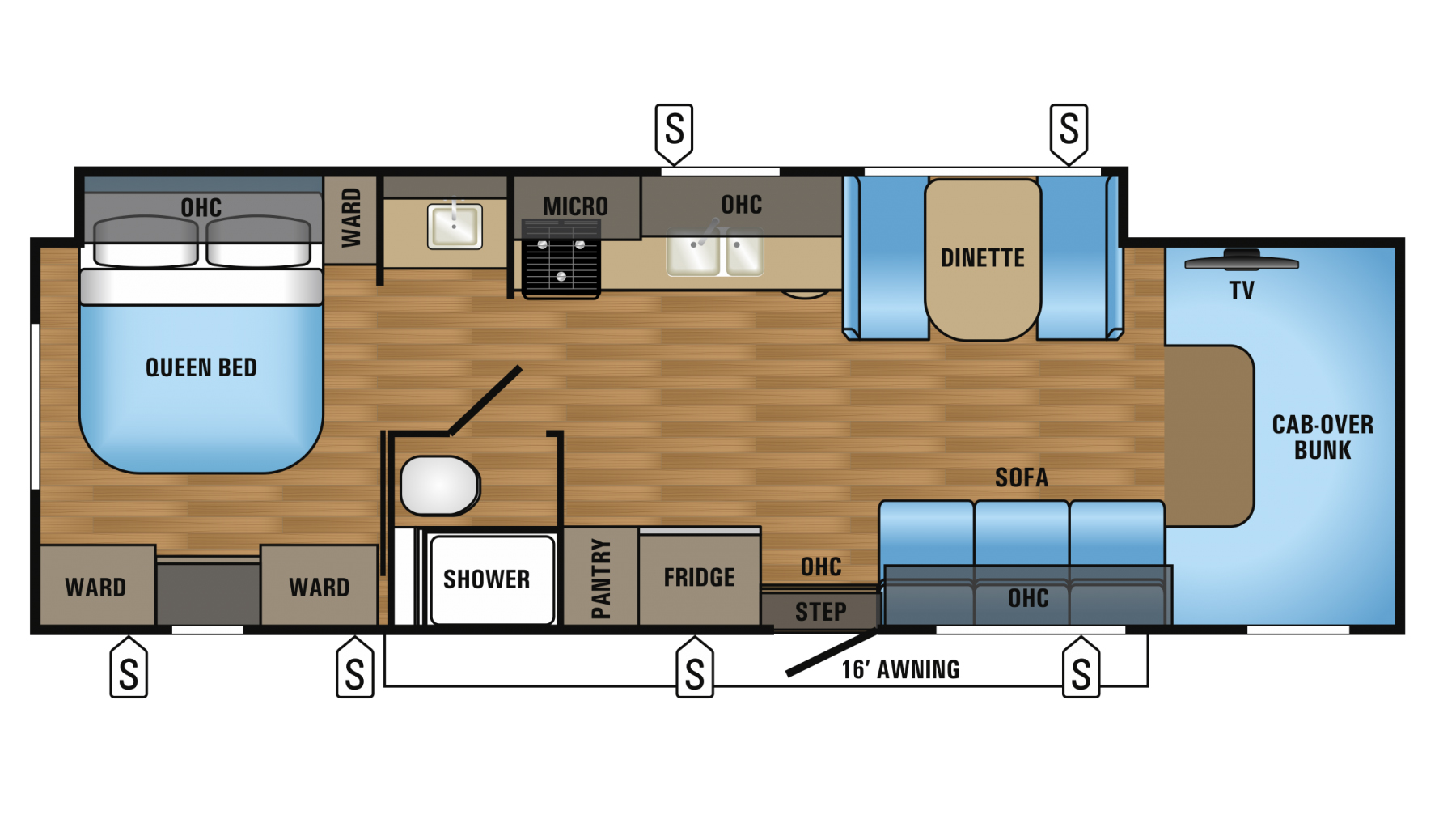 Jayco Travel Trailer Floor Plans