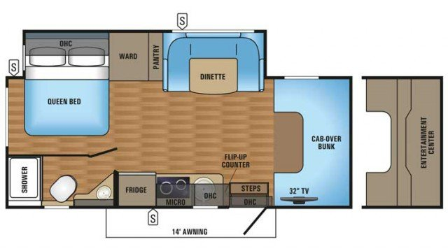 2018 Melbourne 24L Floor Plan