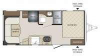 2018 Bullet Crossfire 1900RD Floor Plan