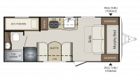 2019 Bullet Crossfire 2070BH Floor Plan
