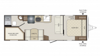 2018 Bullet Crossfire 2510BH Floor Plan