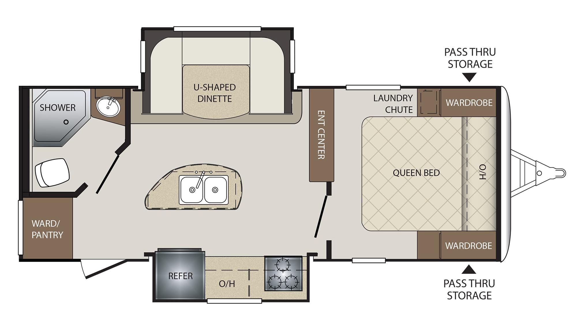 Keystone Bullet Rv Floor Plans