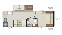 2018 Bullet 248RKS Floor Plan