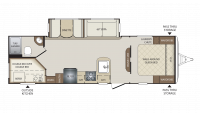 2019 Bullet 277BHS Floor Plan