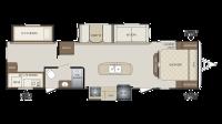 2018 Bullet 311BHS Floor Plan