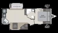 2018 Premier 24RKPR Floor Plan