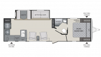 2018 Premier 29RKPR Floor Plan