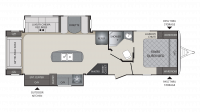 2018 Premier 30RIPR Floor Plan