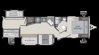 2018 Premier 31BKPR Floor Plan