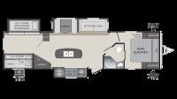 2019 Premier 34BHPR Floor Plan