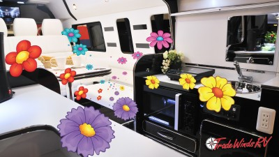Burst Of Fresh Flower Smell In RV