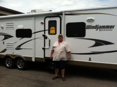 Bob of Alma with their Windjammer 2809W
