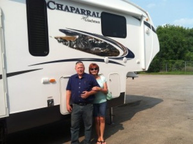 Bob of Midland with their Chaparral Lite 274RLSA