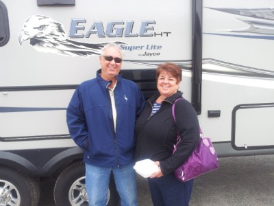 Brian of Sault Ste. Marie with their Eagle HT 26.5RLS