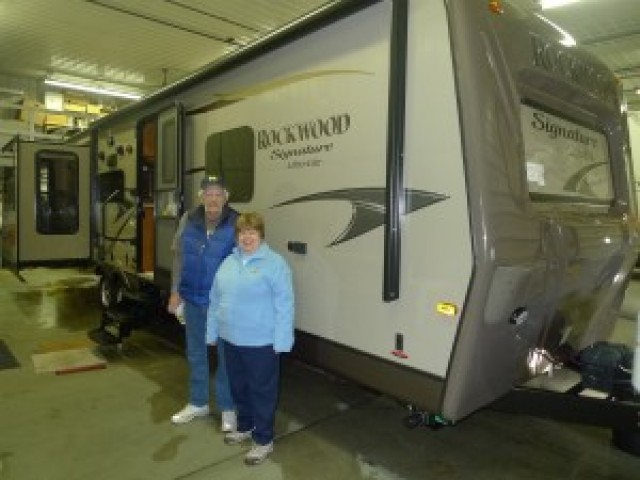 Charles of Weidman with their Rockwood Signature Ultra Lite 8319SS