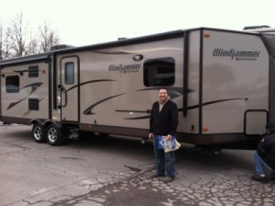 Kyle of Kalamazoo with their Windjammer 2809W