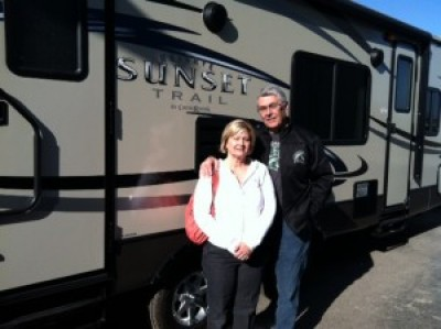 Richard of Freeland with their Sunset Trail Reserve ST32RL