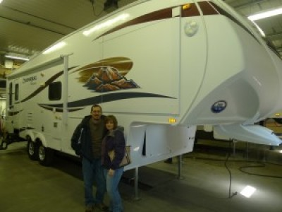 Stephanie of Pinconning with their Chaparral Lite 274RLSA