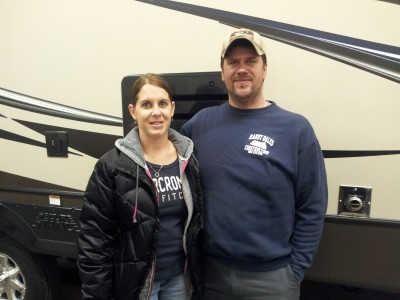 Todd of Croswell with their Sunset Trail Reserve ST30RK