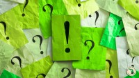 Puzzlers   sticky notes with question marks and exclamation point Feature
