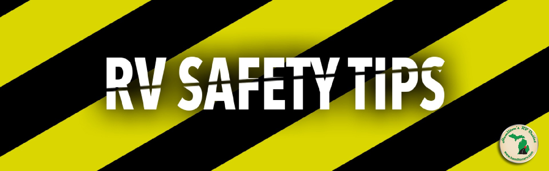 RV safety tips Banner