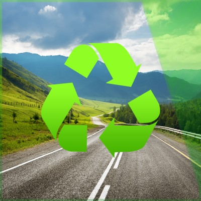 Recycle on the Road