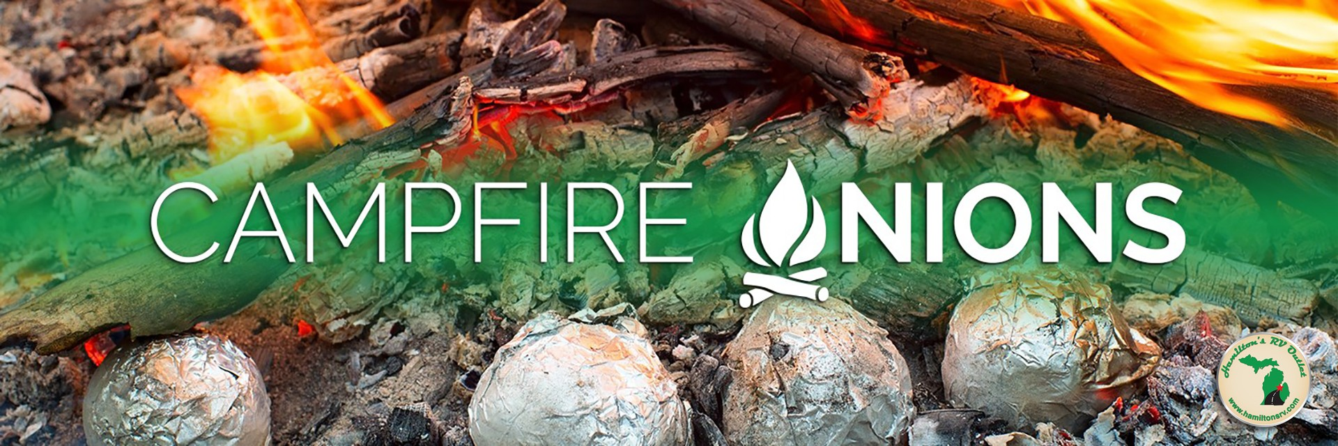 Campfire Onions Banner